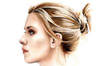 意畫家繪好萊塢女星完美側面水彩肖像畫