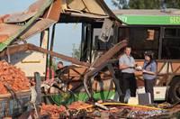 俄羅斯大巴與運磚車相撞 致16死9傷