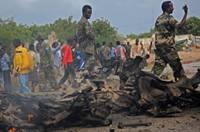 索馬裏青年黨襲擊阿聯酋使館車隊 致14人死亡