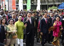 習近平訪巴並赴印尼出席會議和紀念活動(2015.4.20-4.24)