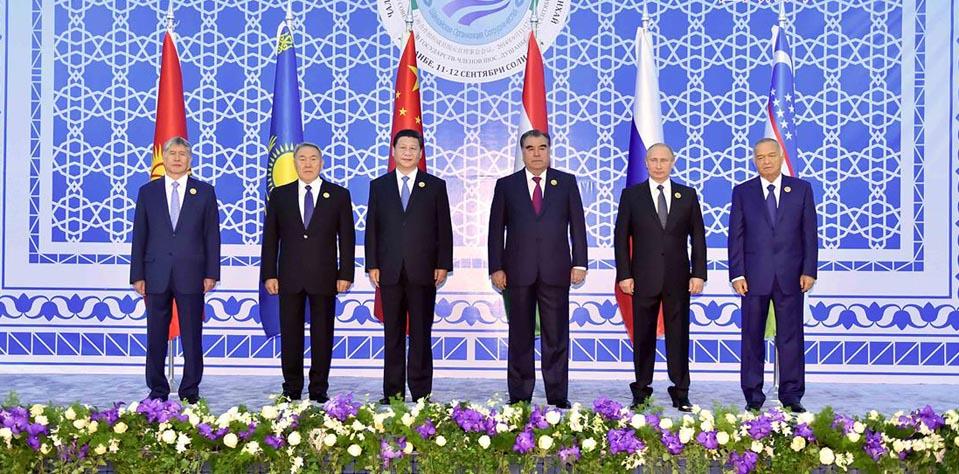 [資料圖]上海合作組織成員國元首理事會第十四次會議
