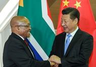 習近平會見南非總統