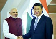 習近平會見印度總理