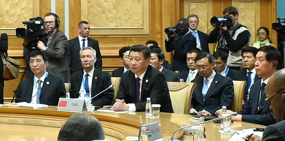 習近平出席金磚國家領導人第七次會晤並發表重要講話