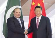 習近平會見巴基斯坦總理
