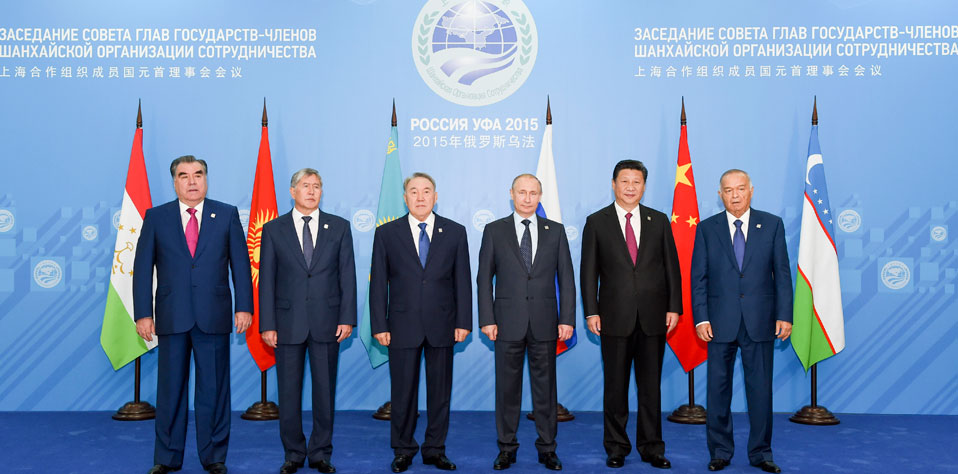 習近平出席上海合作組織烏法峰會並發表重要講話