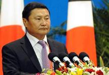 """蒙古國總理賽汗比勒格:中蒙在實施""""一帶一路""""戰略方面相互支持"""