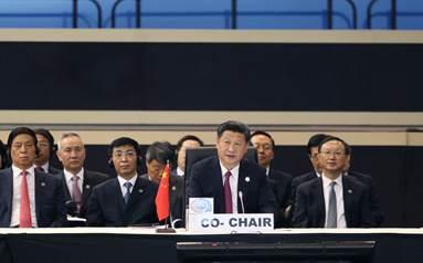 習近平出席並主持中非合作論壇約翰內斯堡峰會全體會