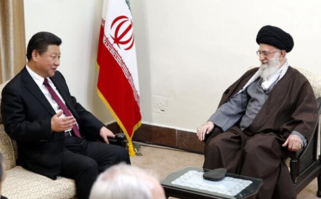 習近平會見伊朗最高領袖