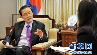 獨家專訪韓國駐華大使金章洙