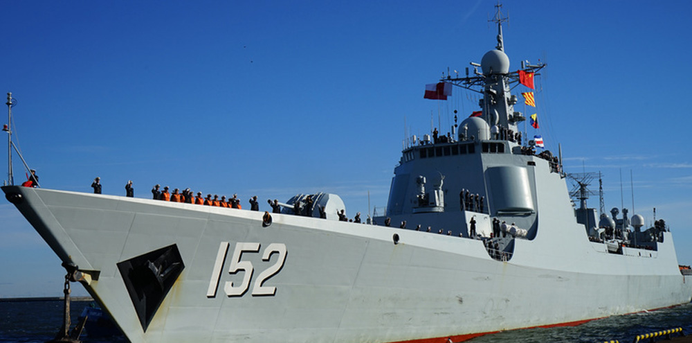 [資料圖]中國海軍艦艇編隊抵達波蘭進行首訪