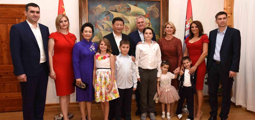 習近平同塞爾維亞總統尼科利奇舉行會晤