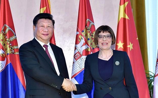 習近平會見塞爾維亞國民議會議長