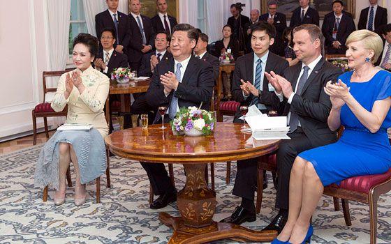 習近平同波蘭總統舉行會晤