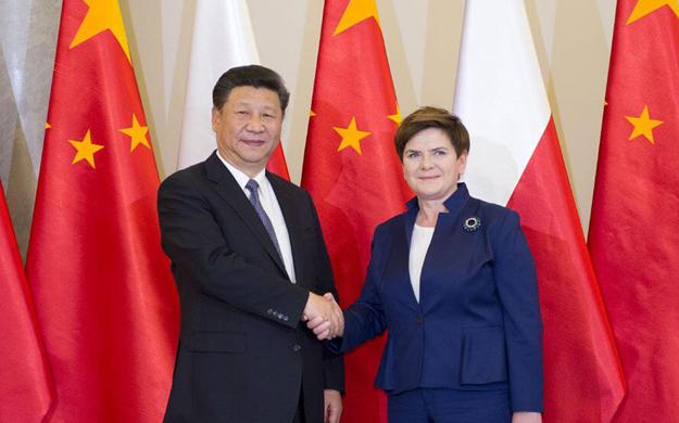 習近平會見波蘭總理
