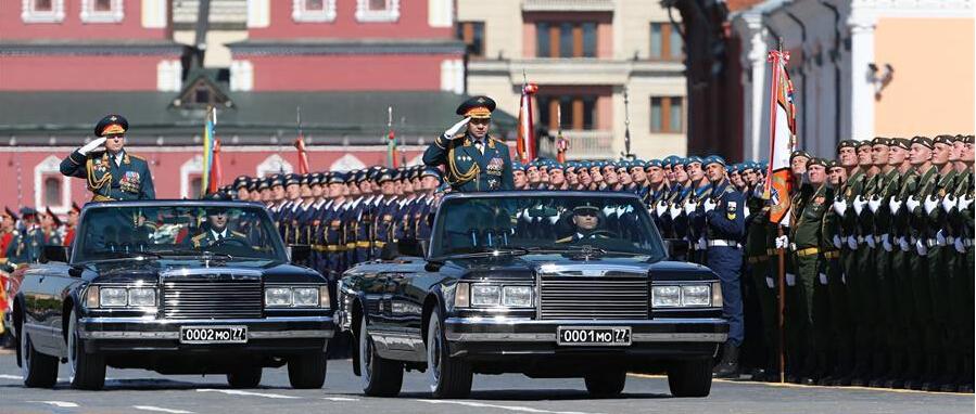 俄羅斯舉行衛國戰爭勝利71周年閱兵式