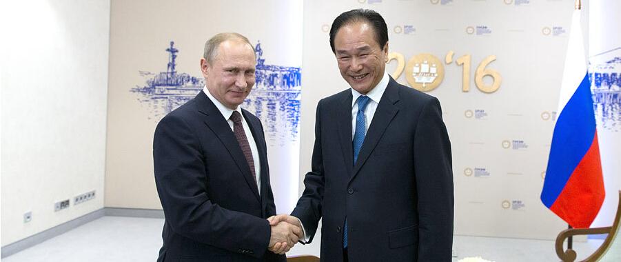 俄羅斯總統普京接受新華社社長獨家專訪