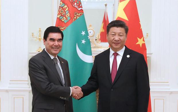 習近平會見土庫曼斯坦總統