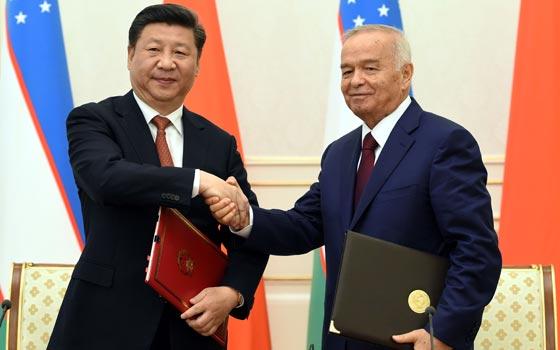 習近平出訪烏茲別克斯坦並出席上合組織峰會精彩圖集