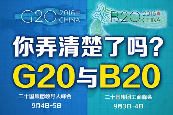【G20係列圖解】G20與B20,你弄清楚了嗎?