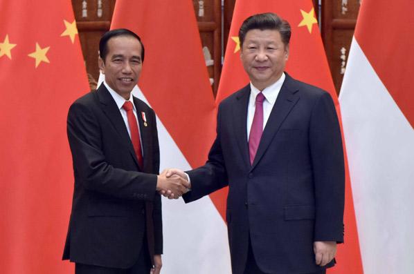 習近平會見印度尼西亞總統佐科