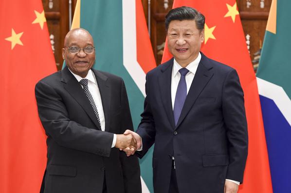 習近平會見南非總統祖馬