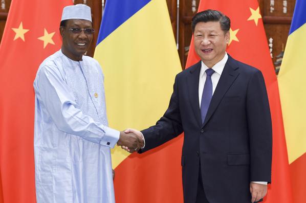 習近平會見乍得總統代比