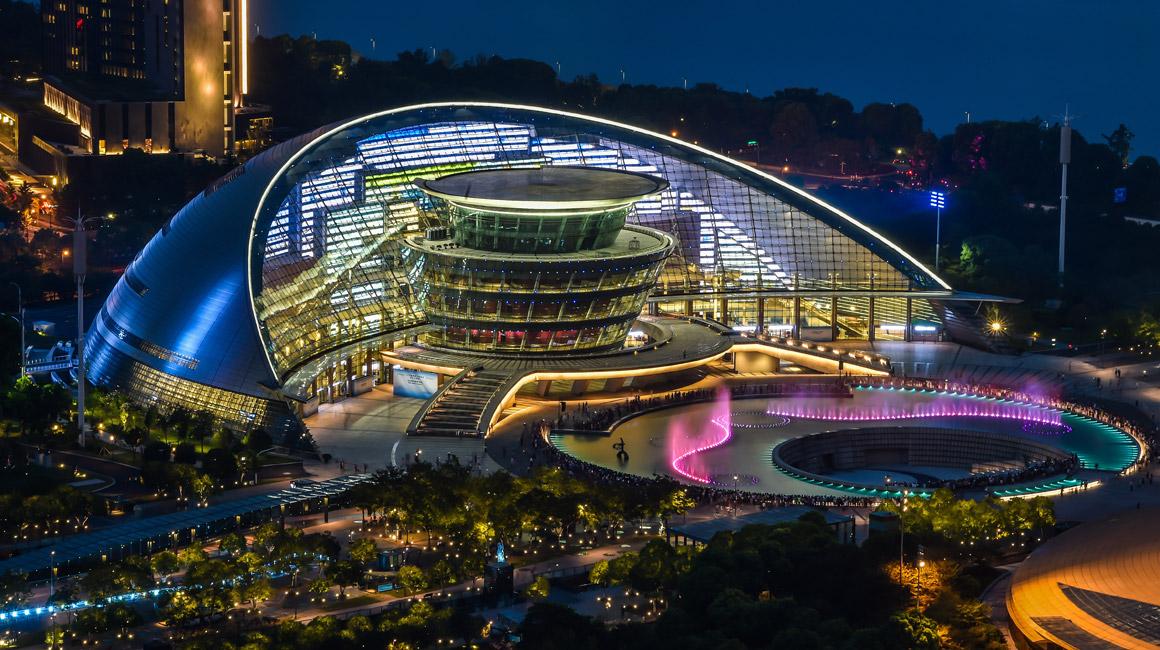多彩夜杭州