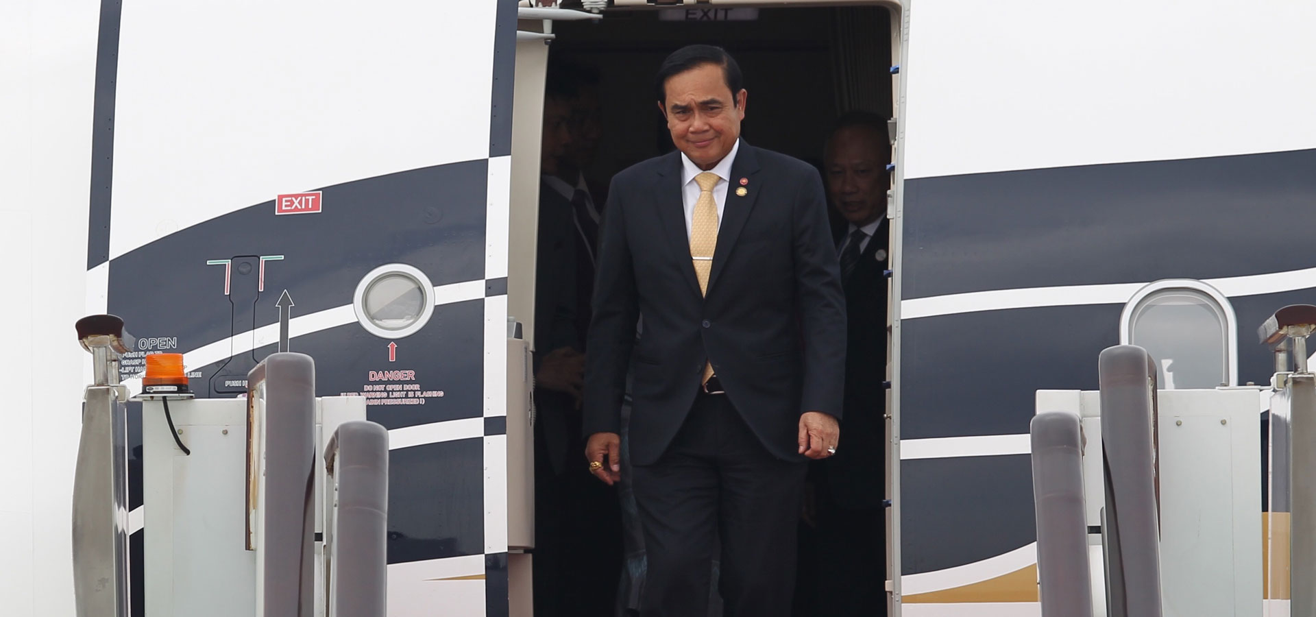泰國總理巴育抵達杭州