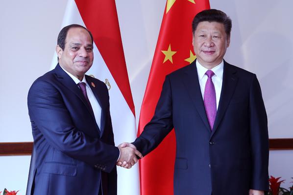 習近平會見埃及總統塞西