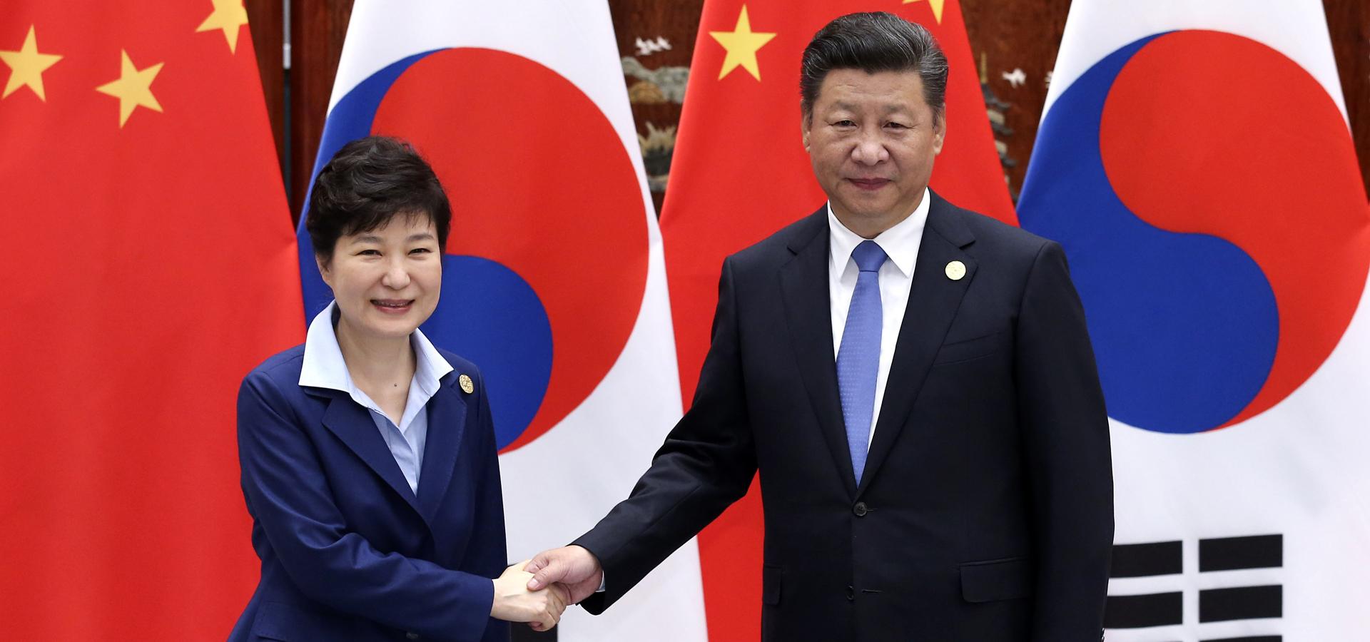 習近平會見韓國總統樸槿惠