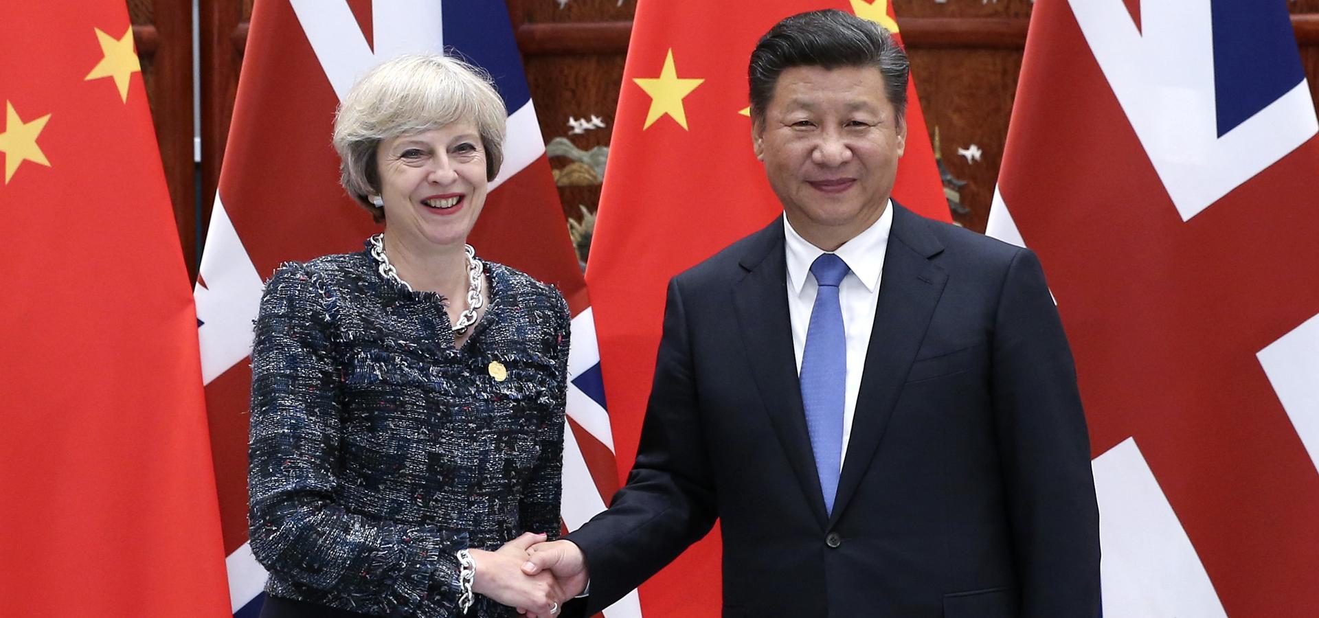 習近平會見英國首相特雷莎·梅