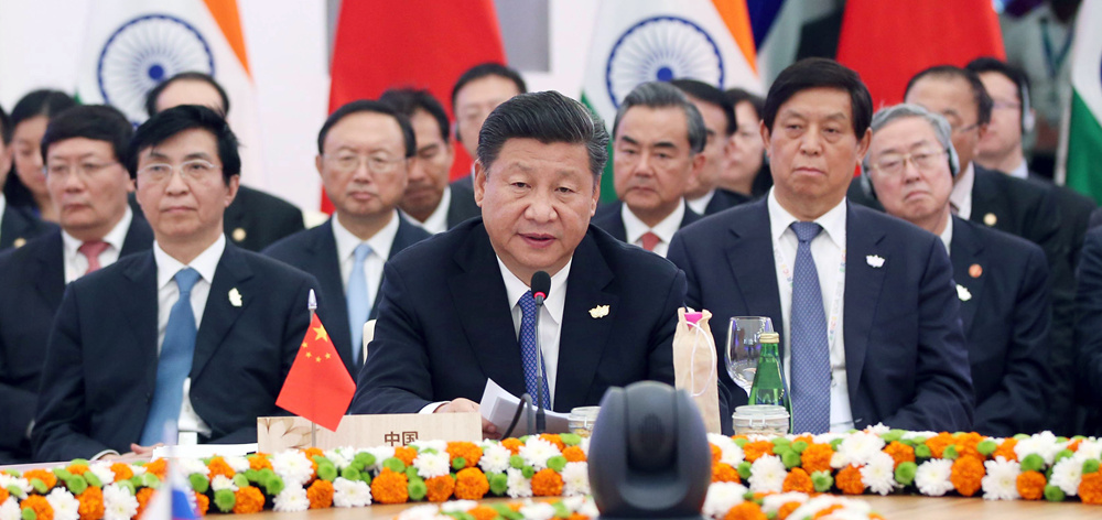 習近平出席金磚國家領導人第八次會晤