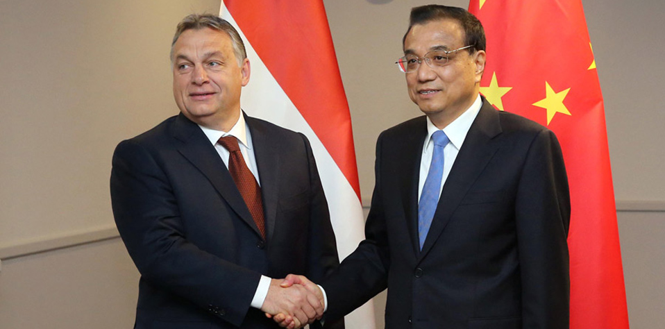 李克強會見匈牙利總理歐爾班