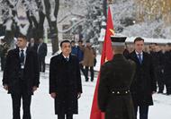 李克強同拉脫維亞總理舉行會談