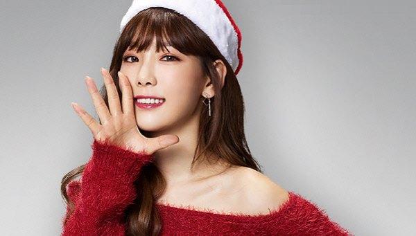 少女时代泰妍代言游戏宣传照