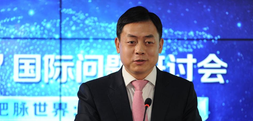 中國人民大學國際事務研究所所長王義桅發言