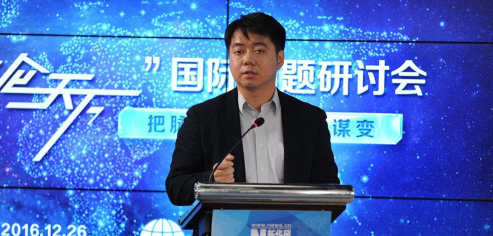 中國人民大學重陽金融研究院執行院長王文發言
