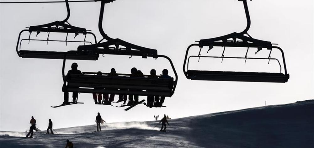 瑞士 少雪的冬天