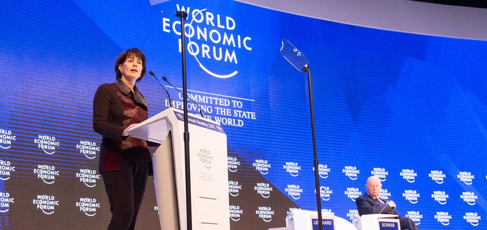 世界經濟論壇2017年年會開幕