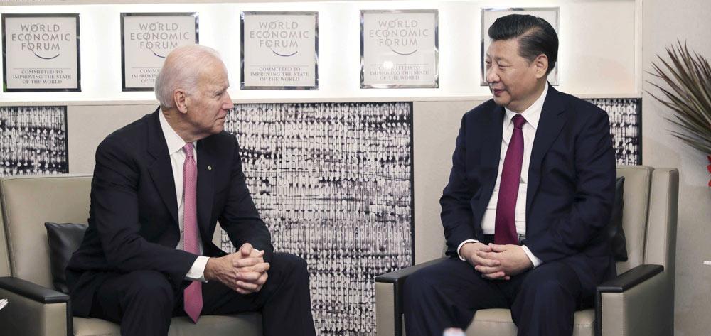 習近平會見美國副總統拜登