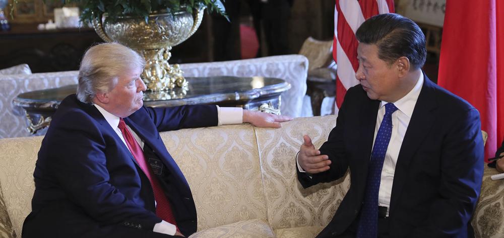 習近平同特朗普開始舉行中美元首會晤