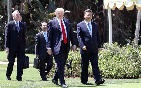 習近平同特朗普舉行中美元首第二場正式會晤