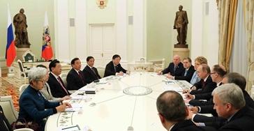張德江見普京並出席中俄議會合作委員會第三次會