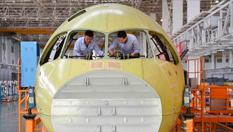 探秘C919國産大飛機機頭生産線
