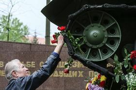 柏林德俄博物館紀念二戰勝利72周年