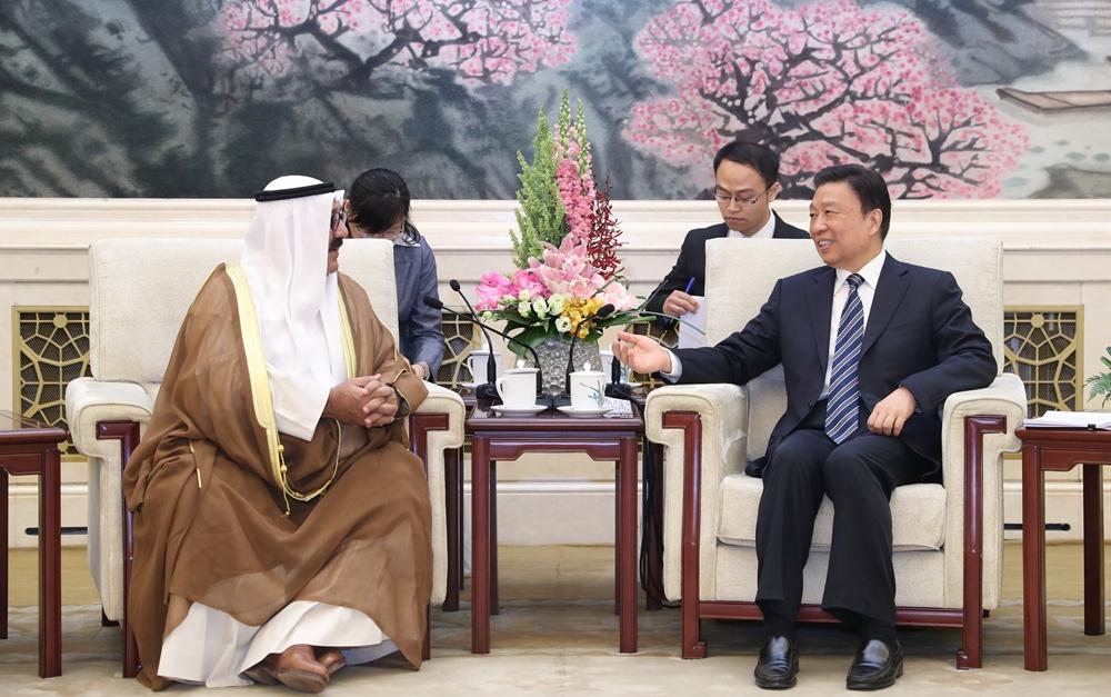 李源潮会见科威特客人