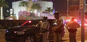 美國拉斯維加斯發生槍擊事件