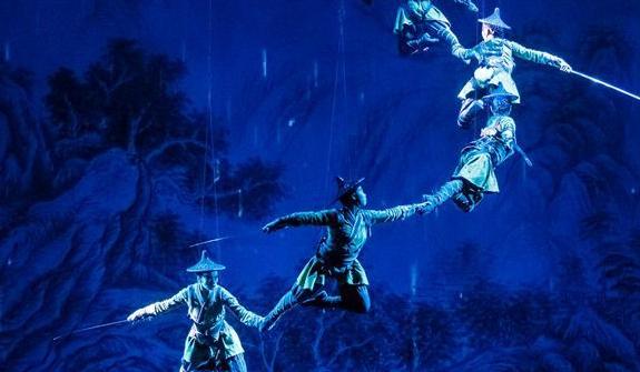 武俠雜技劇《笑傲江湖》在新加坡上演