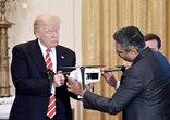 特朗普在白宮參加新興技術峰會 對無人機頗有興趣